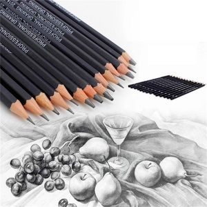 Other - NIB Set - 14 Professional Drawing Graphite Pencils
